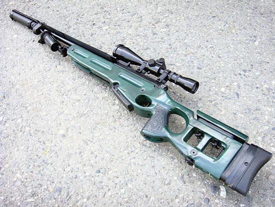 Современная снайперская винтовка СВ-98 разработки Ижевского механического завода