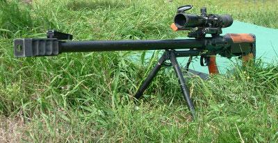 Винтовка СВМ 98 под патрон 12,7Х108 способна выводить из строя противника на дистанцияхдо 2 километров