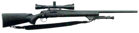 Remington 700 Police Sharp Shooter (PSS)