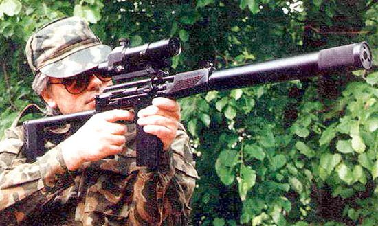 Легкая бесшумная снайперская винтовка ВСК-94 с прицелом ПКС-07