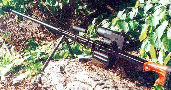 Винтовка В-94 с новым 12-кратным прицелом ПОС12х56