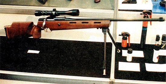 Один из вариантов однозарядной МЦ-116. Явно не армейское оружие
