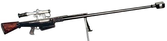 12,7-мм снайперская винтовка В-94 разработки КБП