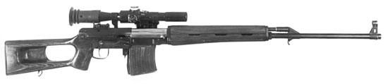 Опытная снайперская винтовка Драгунова