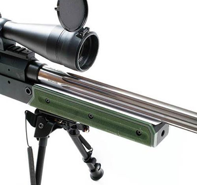 Для столь точной стрельбы на большую дистанцию нужен хороший оптический прицел