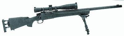 Снайперская винтовка М24 с регулируемым затылком приклада, сошками «Харрис-Бипод»