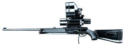 Снайперская винтовка SSG-69 с подсветочным ночным прицелом