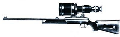 Снайперская винтовка SSG-69 с бесподсветочным ночным прицелом