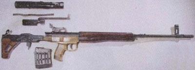 6-мм самозарядная снайперская винтовка ТКБ-0145К