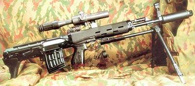 Автоматический вариант снайперской винтовки – СВУ-А (СВД-УА)