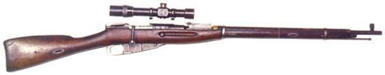 снайперская винтовка образца 1891–1930 годов