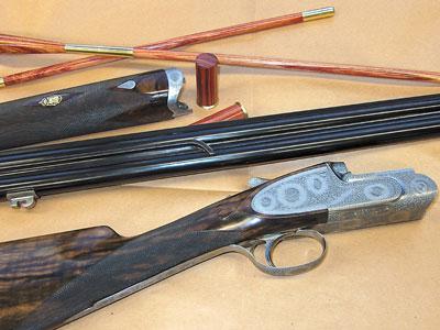 Замеры параметров ружья