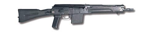 «Сайга-410К» со складывающимся прикладом и укороченным, по сравнению с «Сайгой-410, -410С» стволом. Так как по действующему законодательству ружья и карабины не могут иметь общую длину менее 800 мм, при сложенном положении приклада блокируется ударно-спусковой механизм. Стрельба возможна только при откинутом прикладе.
