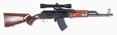 Именно эта «Сайга» под патрон 5,6х39 проходила в 70-х годах испытания в степях Казахстана. В 1989 году карабин был передан М.Т. Калашниковым на хранение в Военно-истрический музей артиллерии, инженерных войск и войск связи в Санкт-Петербурге.