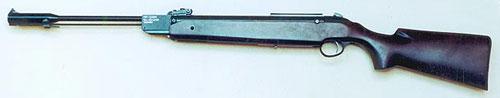 Российская пневматическая винтовка МР-513М класса «магнум». Калибр 5,5 мм.