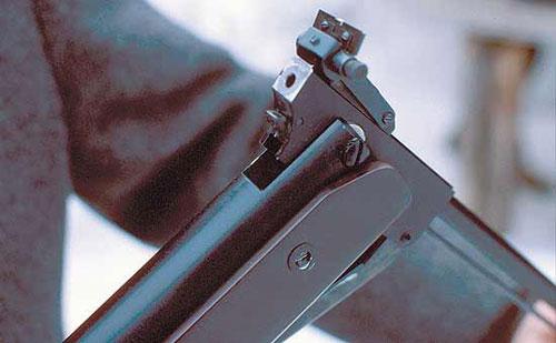 Оружие, использующее для метания снаряда сжатый воздух