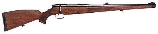 Охотничий карабин Mannlicher SBS 96. Оружие этой фирмы отличается блестящим качеством стволов и тщательностью отделки