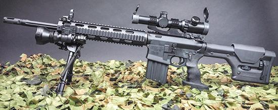 Высокоточный комплекс DPMS G2 SASS — самозарядная винтовка в .308-м калибре, оружие полицейских подразделений спецназа SWAT