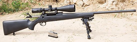 Модель Roessler Titan 6 All-Round отличается пластиковой ложей и  утолщенным контуром ствола, благодаря чему имеет более «тактическую»  внешность