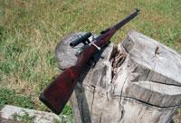 Снайперская винтовка мосина как