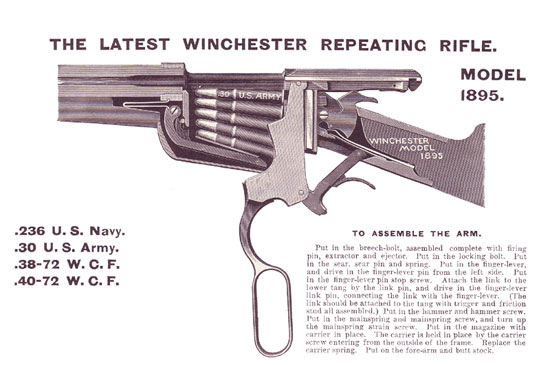 WINCHESTER М95