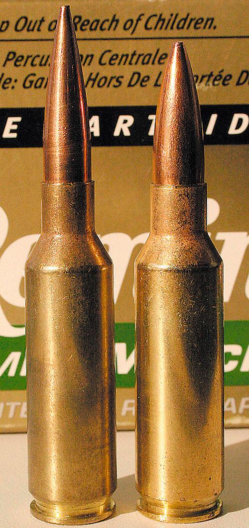 Два молодца из ремингтоновского ларца»: .300 и .338 Remington Short Action Ultra Magnum.
