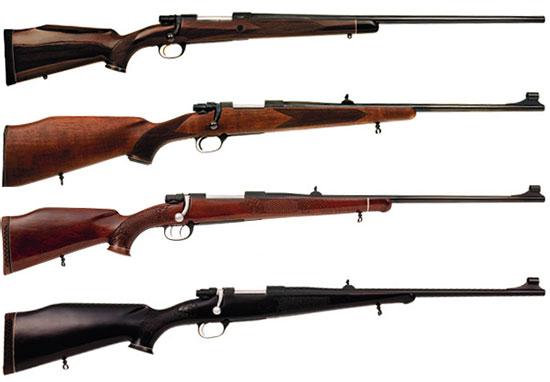 Самые именитые представители семейства «Заставы». Сверху вниз: LK-85 суперкласс, LK-70 2-й тип, LK-70 MCLux, LK-70 для левшей