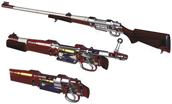 При изучении «анатомии» CZ550 всякий раз убеждаешься, насколько продумана и лаконична конструкция винтовки — детище столетней эволюции и чешских оружейников из Угерского Брода
