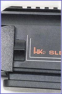 Движок выключения основного затвора расположен слева на ствольной коробке.