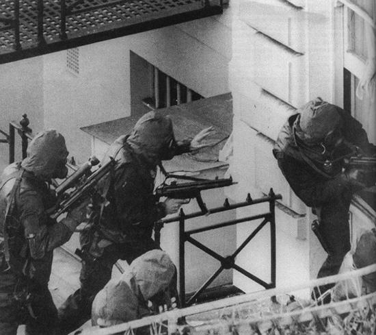 Операция «Нимрод», Лондон, 5 мая 1980 г