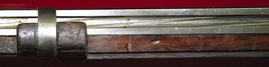 Нарезы вканале ствола «Нумер 2» спроектированы под свинцовую пулю, для  предохранения от освинцовки пуля двигалась поканалу ствола, обернутая  вспециальную бумагу.