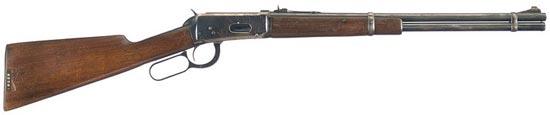 Карабин Винчестер М1894 калибра .30-30, выпущенный в 1943 году и долгое время использовавшийся полицией штата Техас