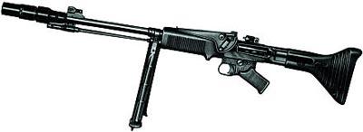 7,92-мм автоматическая винтовка FG.42 тип Е с 30-мм ружейным гранатометом 2-го образца «cm Gewehrgranatengerat-2»