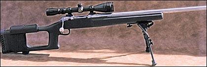 Сэведж 12VSS-S – отличная варминт-винтовка по самой привлекательной цене. Прицел – Simmons 4-12x40мм с настраиваемым объективом. Рекомендуемая розничная цена винтовки вместе в кольцами – чуть больше тысячи долларов.