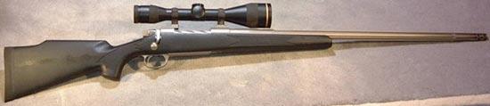 Lazzeroni Firehawk с прицелом Leupold LPS 3.5-14x50 mm