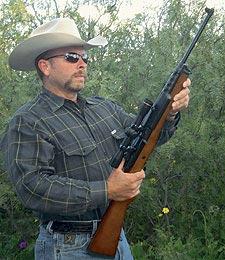 Автор нашёл, что новая, улучшенная Мини-14 –отличная охотничья винтовка «на всякий случай».