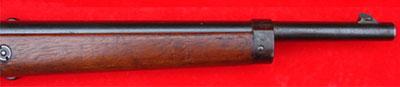 Вид на переднюю часть ложа и ствола Steyr Mannlicher M1890 Cavalry Carbine