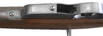 Вид на магазин (снизу) Steyr Mannlicher M1895