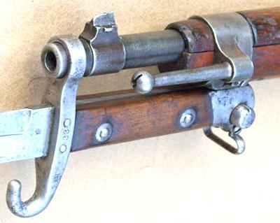 Вид на ствол с прикрепленным штыком