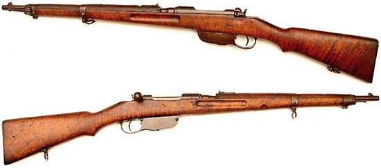 Штуцер (короткая винтовка) Steyr Mannlicher M1895