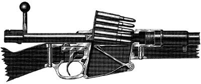 Схема механизмов Mauser 1889
