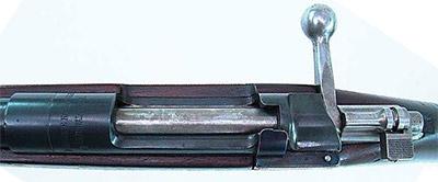 Вид на ствольную коробку Mauser 1889