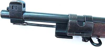 Вид на дульную часть Mauser 1889/36