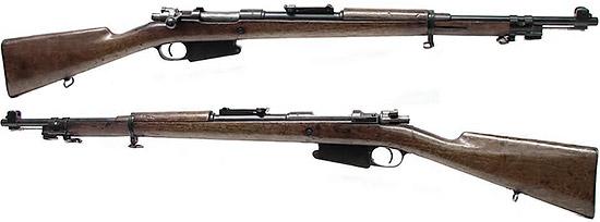 Fusil d'lnfanterie Mle 1889/36 (Mauser 1889/36)