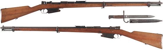 Fusil d'lnfanterie Mle 1889 (FN Mauser 1889)