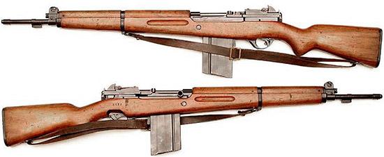 Конверсионная аргентинская модель SAFN-49 под патрон 7.62x51 и с магазином на 20 патронов