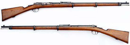 Mauser-Milovanovic M 1880 (Mauser M 1878/80)
