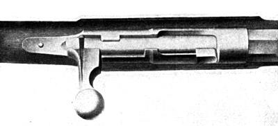 Вид сверху на затвор Mauser-Norris M 67/69