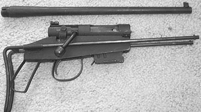 Rifle Survival M4 с отсоединенным стволом