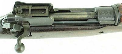 Вид на ствольную коробку US Rifle M1917